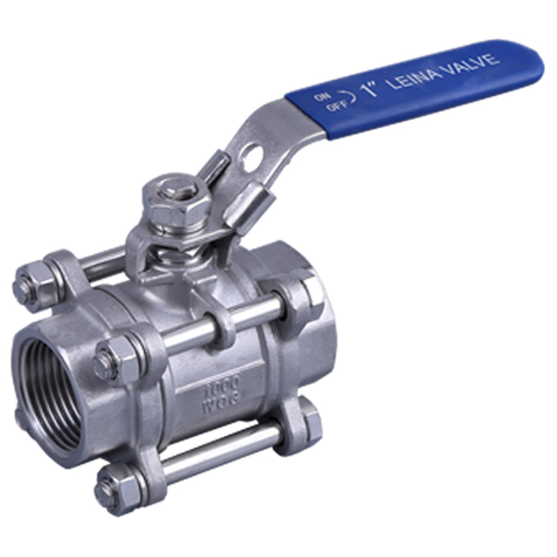 LN-Q3TM3-3PC thread ball valve M3 type 1000psi