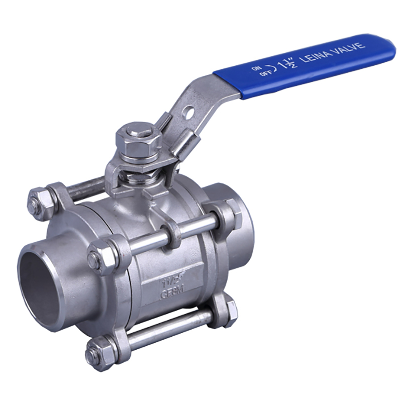 LN-Q3TM3-3PC thread ball valve Economic Type ball valve